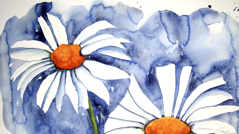 Blumen – Aquarell